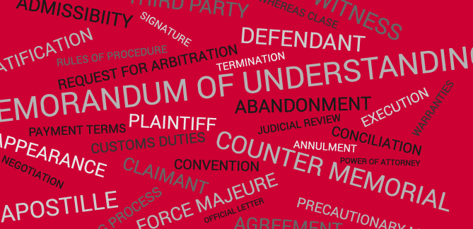 110 Most Common Legal Terms Translated into Spanish