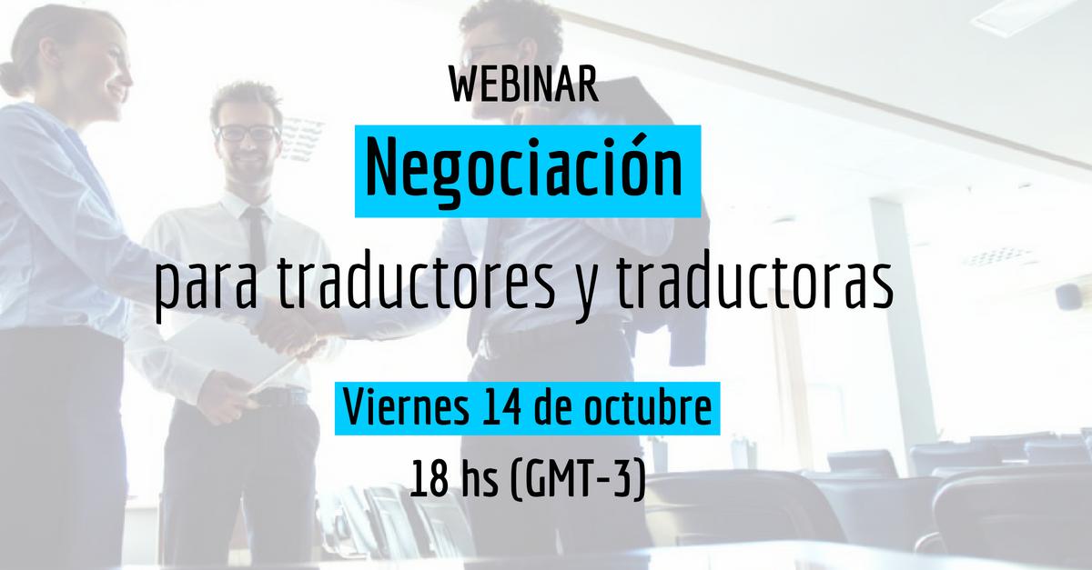 webinar negociacion traductores