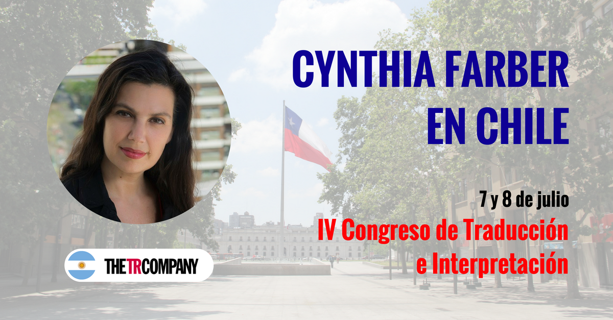 Cynthia Farber disertará en un congreso de traducción en Chile
