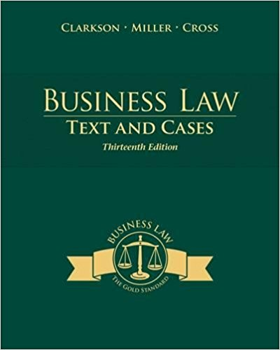 business-law-text-and-cases